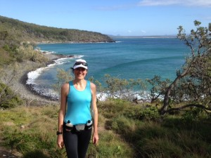 Sue on Coastal Walk Noosa National Park
